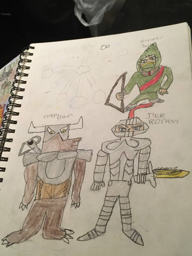 Entertainment: Books & Comics - OC COMIC/ Duel journey chapter 3-4 :  Forest entrance/Bear between battle  image 2