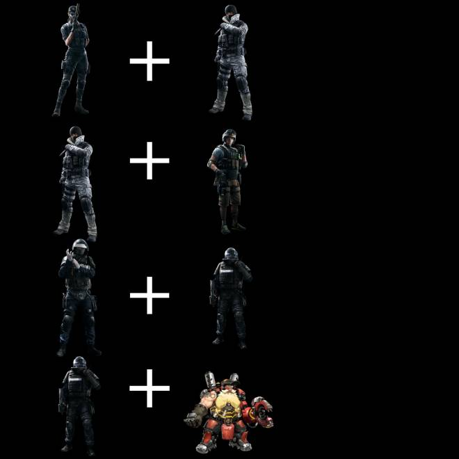 Rainbow Six: General - Just some OP Combos  image 1
