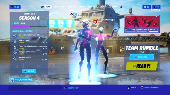 Fortnite: Battle Royale - Who copped I already had it but my friend finally got her image 1