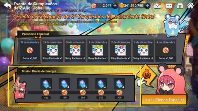GrandChase - GLOBAL SP: Eventos - 🎉 Evento de Celebración del 2º Cumpleaños (Actualizado) image 47