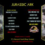 Jurassic ARK 50x/TP/Shop/4man/S+/pvp/11/30 https://discord.gg/uBmNfuAjTQ