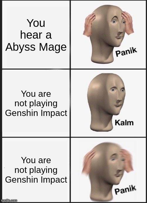 Genshin Impact: Posts - Happy Abyss Mage Noises image 1