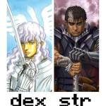 STR and DEX  builds in a nutshell