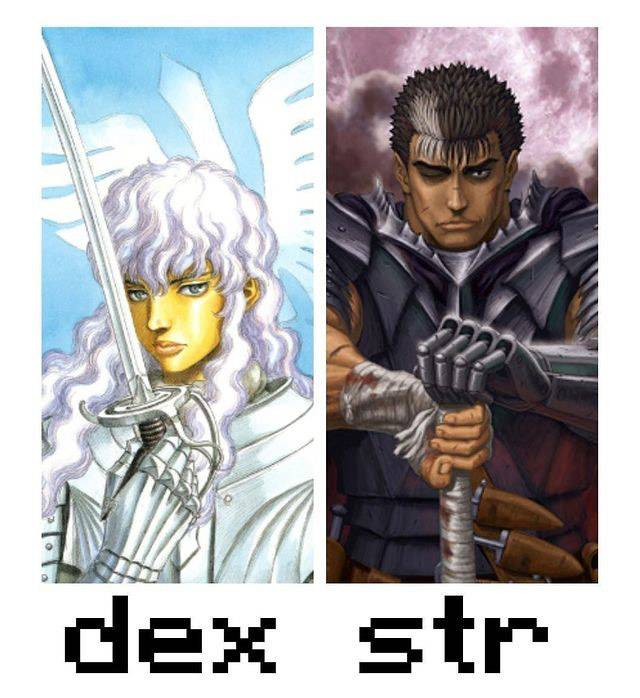Dark Souls: Memes - STR and DEX  builds in a nutshell  image 1