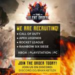 The Silent Order wants YOU!! Now Recruiting!!