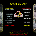 [PC Server] Jurassic ARK 50x/TP/Shop/4man/S+/pvp/11/30 https://discord.gg/uBmNfuAjTQ
