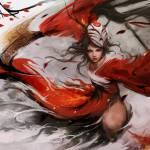 BloodMoon Akali Art
