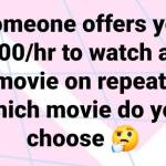 What Movie You Picking?