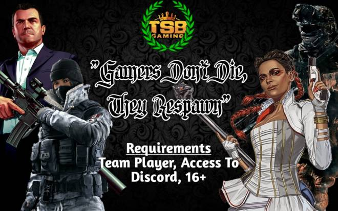 Call of Duty: Looking for Group - Hello everyone, I'm a Seargent looking to recruit players to join The TSB Gaming Community. We are image 3