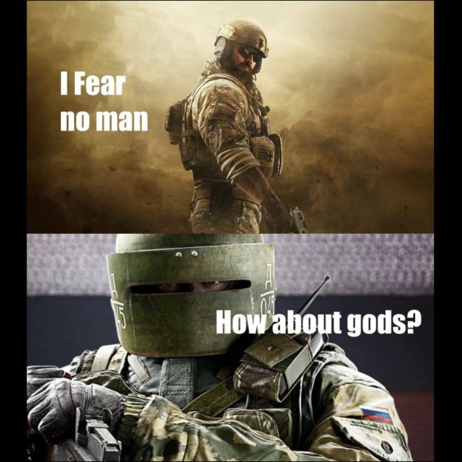 Rainbow Six: General - Only gods in here image 1