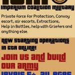 JOIN OUR MERCENARY/MILITARY RP CREW | PS4