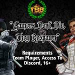 Join TSB Gaming Today!