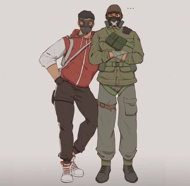 Rainbow Six: Art - Why does this look like... image 2