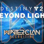 Looking for an active PlayStation clan in Destiny 2? Join us in Winter Clan! [NA][EU][PvE][PvP]