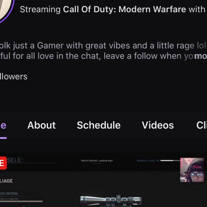 Call of Duty: Promotions - Live in twitch folk come chat with me link is on my page !!  image 1