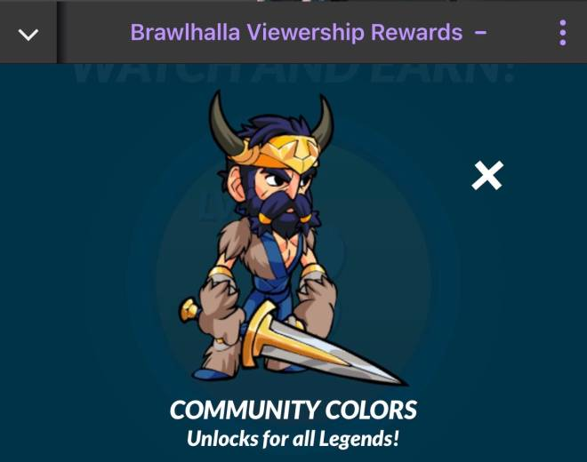 Brawlhalla: General - Brawlhalla Community Colors image 2