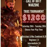 $1200 Warzone Trios Tournament