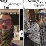 This could be either or but more I'm in the middle when it comes to play style in Dark souls