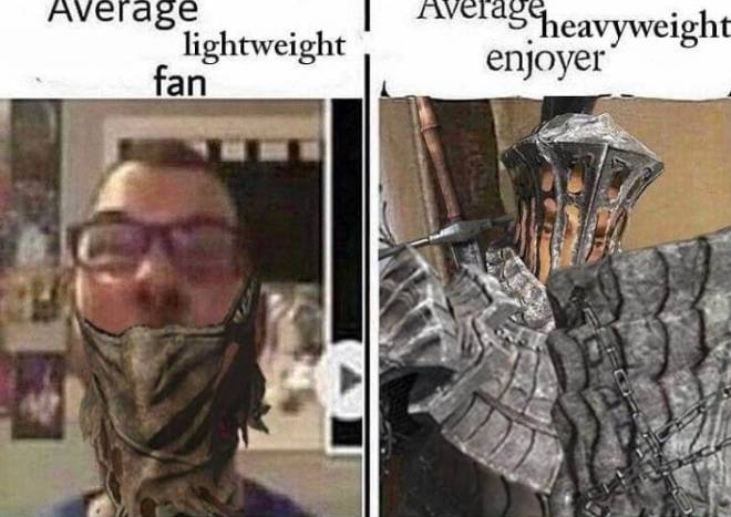 Dark Souls: Memes - This could be either or but more I'm in the middle when it comes to play style in Dark souls  image 2