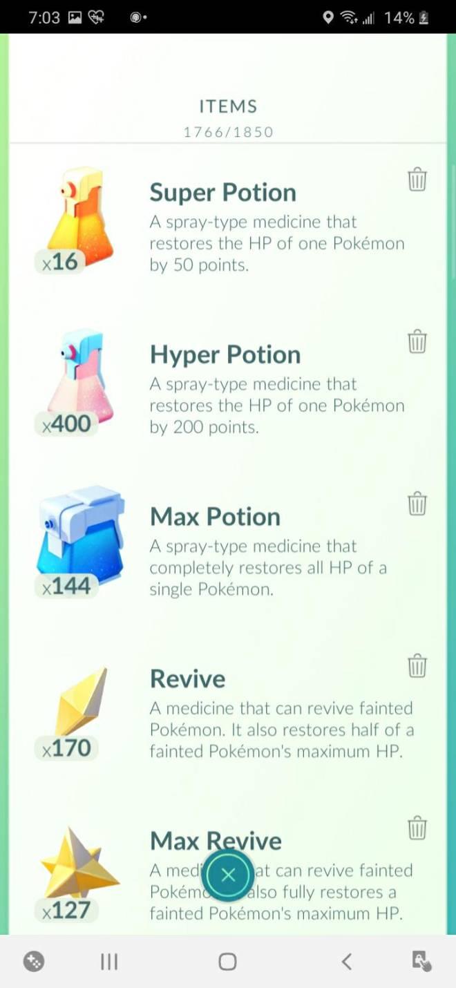 Pokemon: General - Got Potions? Revives? image 2