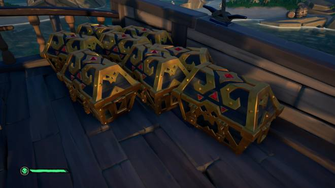 Sea of Thieves: General - when you put all your eggs in one basket (sloop) image 1