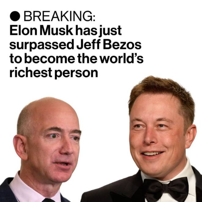 Off Topic: General - Daily News#34 Elon Musk Richest man in the world 🌎 🤩 image 2