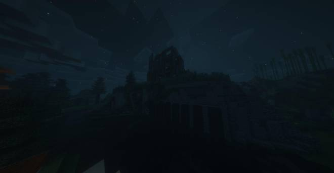 Minecraft: Memes - I made the lower walls of my old starter mansion more ruinous to add cohesion and show abandonment. image 1