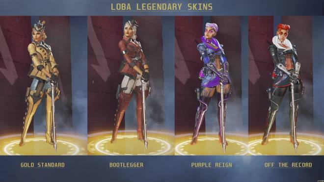 Apex Legends: General - Which Loba Skin? ✨ image 2
