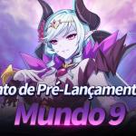 🎉 Evento de Pré-Lançamento do Mundo 9