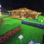 Oak Minecraft starter base 1