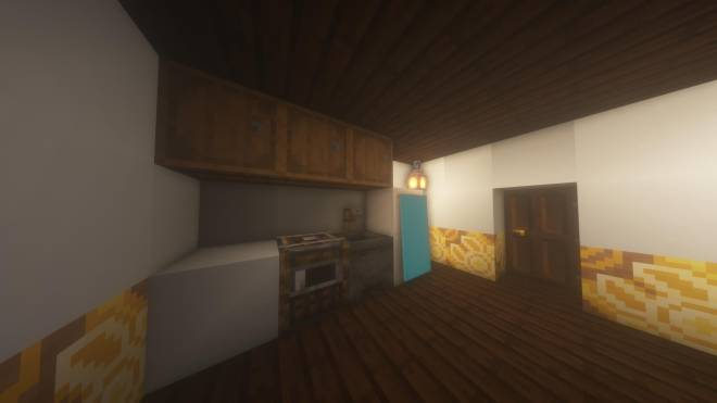 Minecraft: Memes - Interior of Apartment + One of the rooms (with a pop-culture reference from a certain show) image 3