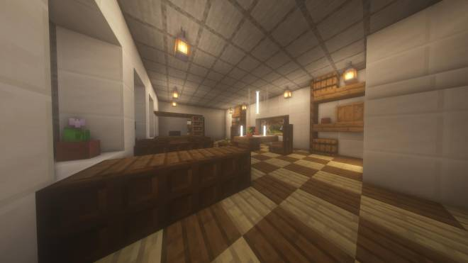 Minecraft: Memes - Here's a nice living/dining room (A reimagined room in my house) image 1
