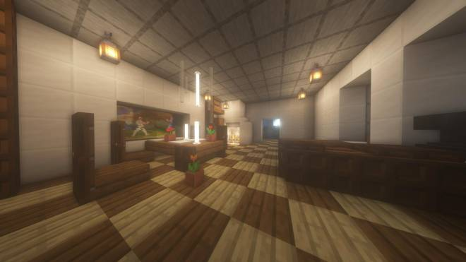 Minecraft: Memes - Here's a nice living/dining room (A reimagined room in my house) image 2