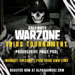 $1200+ Trios Tournament