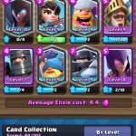 Here is a good deck for clash Royale and pls follow