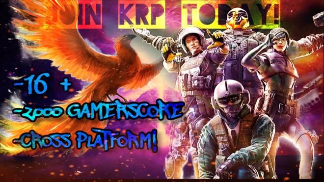 Rainbow Six: General - Join KRP!!  image 2