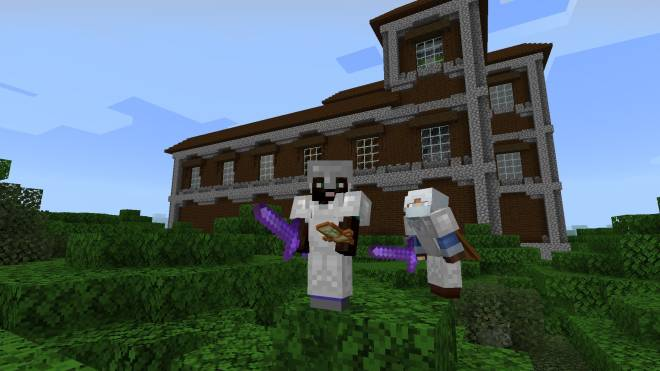 Minecraft: General - Me n The Homie at the Marilyn Mansion image 2