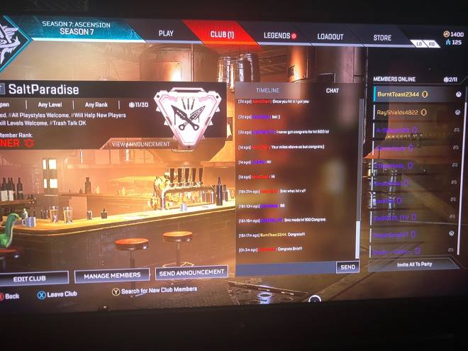 Apex Legends: General - Club for all to join  image 2