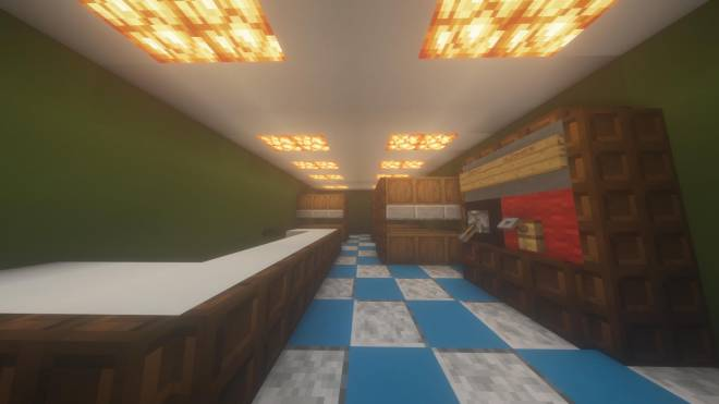 Minecraft: Memes - This is a look inside one of the shops of my shopping area in the business district image 2