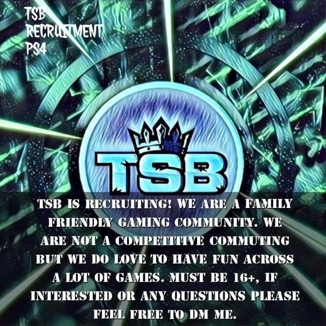 Fortnite: General - TSB Recruitment 16+ image 1