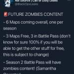 Future Zombie Content !!