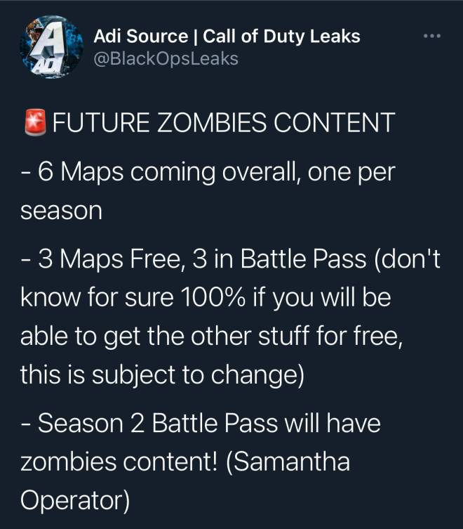 Call of Duty: General - Future Zombie Content !! image 1