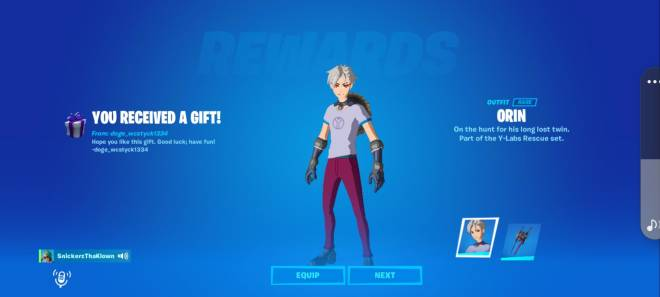 Fortnite: General - Thanks Bro For This Awesome Skin And Pikaxe Gift. 😍 I Love It. image 4