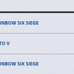 I like playing both Rainbow Six Seige games, hbu.