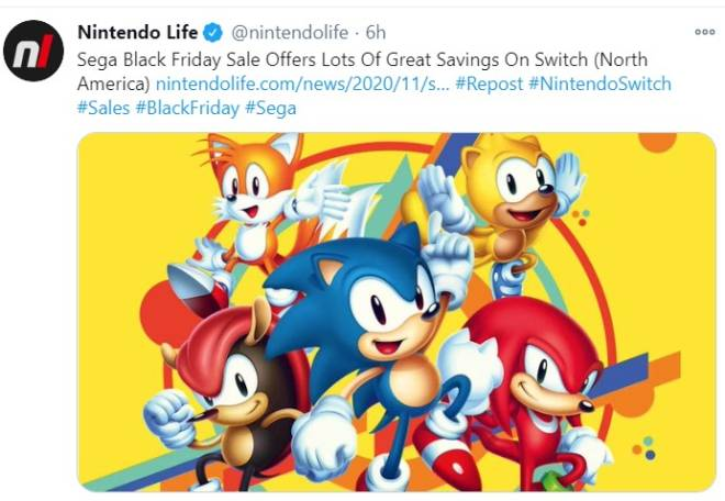 Moot: Questions & Suggestions - Anyone can play Sonic on Nintendo Switch image 1