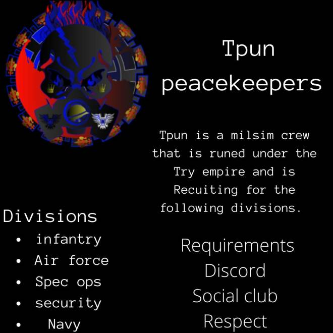 GTA: Promotions - TPUN Recruitment (XBOX ONE) image 2