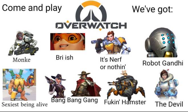 Overwatch: General - Hahahaha the Mei one was a surprise and made me giggle 😆  image 1
