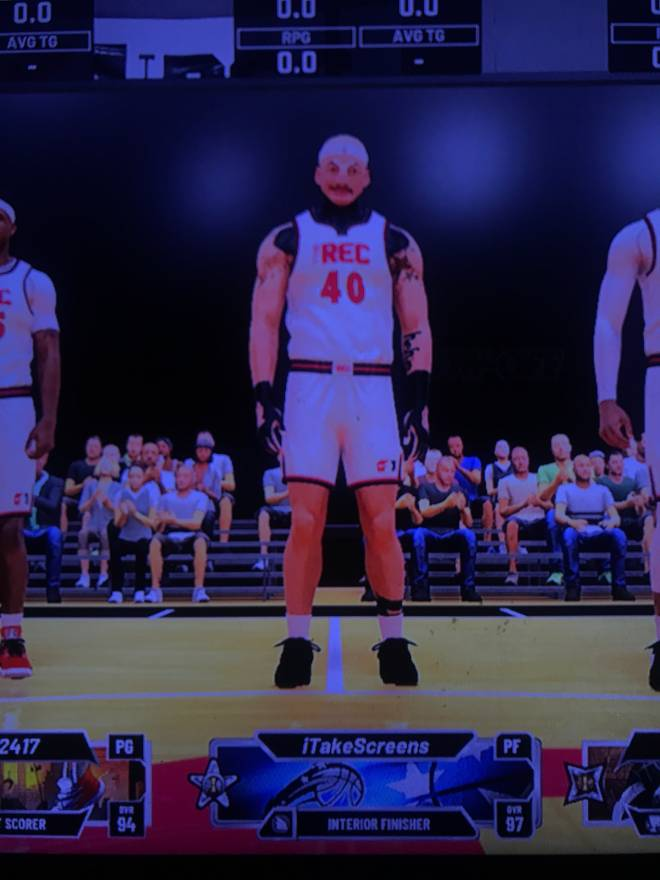 NBA 2K: Looking for Group - I need a duo 97 interior finisher 66.5w% in park fwm psn : iTakeScreens image 3