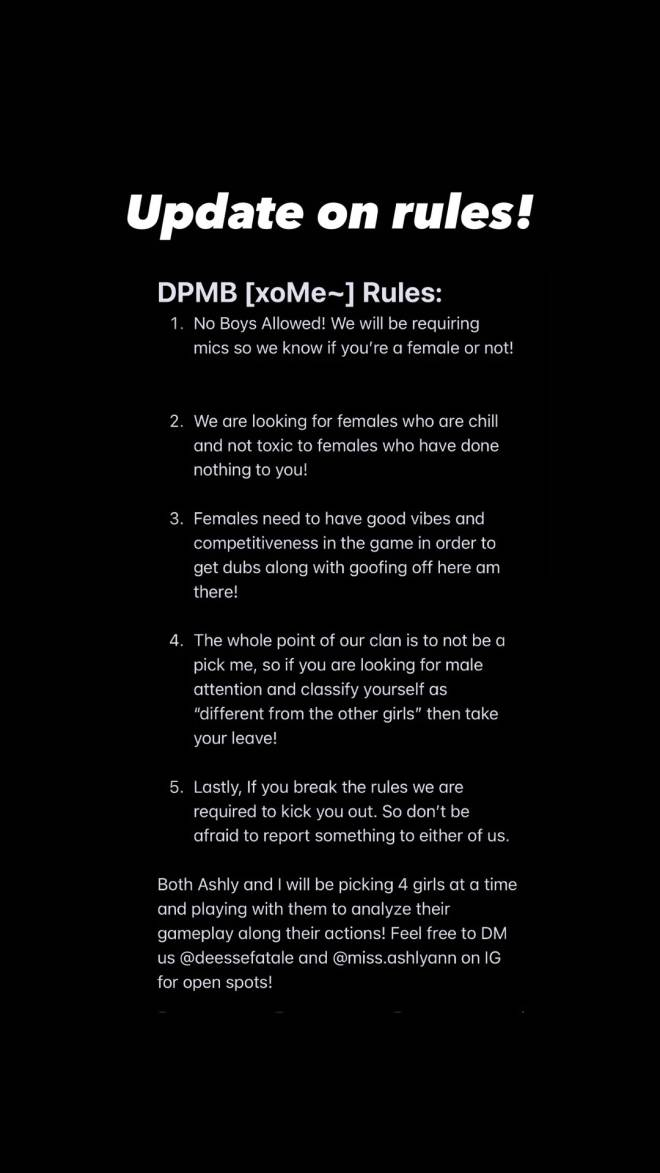 Call of Duty: General - DPMB [xoMe~] STILL LOOKING FOR MORE FEMALES! If interested dm me :)  image 2
