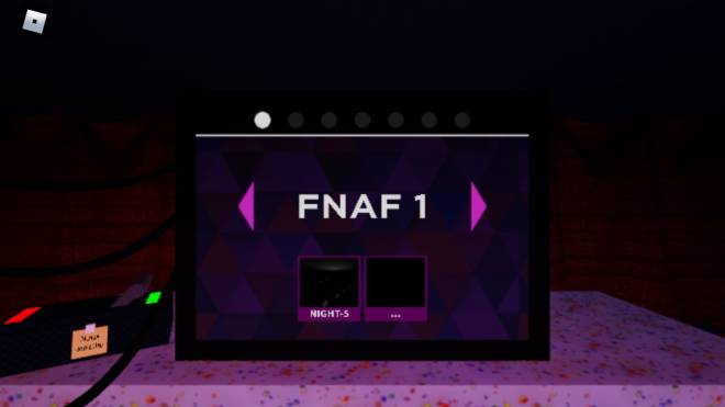 Among Us: Posts - So close to finish Fnaf 1 in Fnaf sr roblox image 1